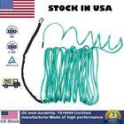 "1/4"" x 50Ft Green 8200LB Nylon Synthetic Winch Rope Line Cable UTV ATV W/Sheath"