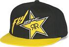 Fly Rockstar Hat Black/Yellow 351-0580