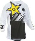 Fly Kinetic Mesh Rockstar Jersey 2X White/Black 372-3242X