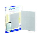 Fellowes True HEPA Filter with AeraSafe Antimicrobial Treatment, White