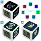 Attack On Titan Anime Cartoon Alarm Digital Clock 7 LED Color Changing Light