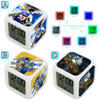 Stephen Curry Basketball Player Alarm Digital Clock 7 LED Color Changing Light