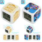Flying Balloon House Hakuna Matata Alarm Digital Clock 7 LED Color Changing