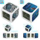 The Doctor Who Princess Alice Ariel Alarm Digital Clock 7 LED Color Changing