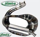 Exhaust muffler expansion Ape Piaggio 130 Jollymoto with silencer aluminum