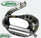 Exhaust muffler expansion Ape Piaggio 130 Jollymoto with silencer carbon