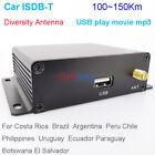 Car ISDB-T Digital TV Full seg HD ISDBT Receiver auto tuner MPEG4 auto isdb-tb
