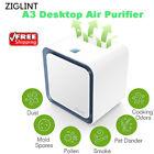 ZIGLINT Air Purifier Sterilizer Ionizer HEPA Filter PM2.5 Dust Smoke Air Cleaner