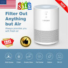 Portable Home Air Cleaner Purifier Allergen Remover Office Dust Smoke w/ 3 Stage