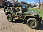 1952 Willys 439  1952 Willys M38 Military Jeep