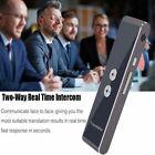 Portable Smart Voice Translator Two-Way Real Time Multi-Language Translation US