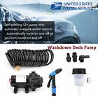 Car 12V 70PSI High Pressure Washdown Deck Wash Pump Kit for Caravan/Marine