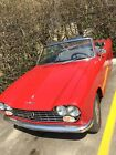 Rare Antique  Convertible Car Peugot 204 -1968 Rare Antique  Convertible Car Peugot 204 -1968