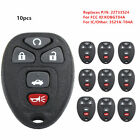 10*NEW KEYLESS ENTRY REMOTE CONTROL CAR KEY FOB REPLACEMENT FOR Buick KOBGT04A