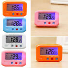 Portable Lcd Digital Alarm Electronic Clock Backlight Time And Calendar CHE