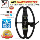 "NEL Sharpshooter 9.5 x 5.5"" DD Search Coil For Garrett AT PRO Metal Detectors"
