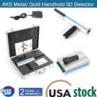 US AKS Metal/Gold Detector Handhold Professional 3D Long Range Diamond Finder