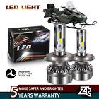 For ATV Arctic Cat Panther 440 97-00 H4 Kits LED Headlight HID White Light Bulbs