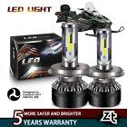 For ATV Arctic Cat Panther 440 97-00 Headlight LED 9003 6000K White Light Bulbs