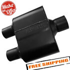 Flowmaster Super 10 Muffler 409S - 3.00 Center In / 2.50 Dual Out - 8430152
