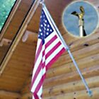 Dock Edge 6.5' Fly-Right Flagpole w US Flag