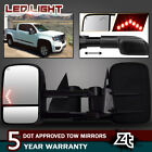 Power Heated LED Signals Tow Mirrors for 03-06 Chevy Silverado 1500/2500/3500HD