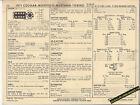 1971 FORD 351 C 285 COUGAR/MONTEGO/MUSTANG/TORINO Car SUN ELECTRONIC SPEC SHEET