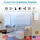 2x WIFI Smart Light Switch Wall Switch Wireless Remote Control For Alexa Google