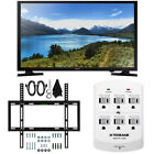 Samsung UN32J4000 - 32-Inch LED HDTV J4000 Series Slim Flat Wall Bundle