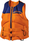 Slippery SURGE Neo Watercraft Vest/Life Jacket (Orange/Navy) M (Medium)