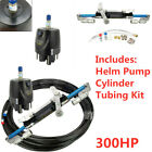 1x Hydraulic Outboard Steering System Boat Steering Cylinder Helm  300HP *