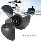 For Mercury Mariner 70-150HP 48-77344A45 13 1/4 x 17 Aluminum Outboard Propeller