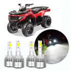 4x BRIGHT HI LO BEAM HEADLIGHT LED LIGHT BULBS For ARCTIC CAT 400 500 650 700