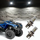 HIGH POWER 80W HEADLIGHT LED LIGHT BULBS For 07-18 YAMAHA GRIZZLY 300 550 700