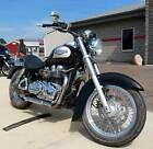 2002 Triumph Bonneville America -- 2002 Triumph Bonneville America Jet Black / Silver