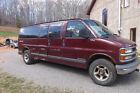 2001 Chevrolet Express  15 Passenger Van 2001 GM Chevrolet 3500 4x4