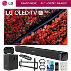 "LG OLED65C9PUA 65"" C9 4K HDR OLED TV w/ AI ThinQ (2019 Model) & Essentials Kit"
