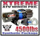 4500LB XTREME ATV WINCH 4500LB Polaris Kit Sportsman 05-10 HD
