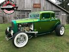 1932 Ford 5 Window Coupe SHOW CAR! -- 1932 Ford 5 Window Coupe SHOW CAR!  999999 Miles   350 V8 Turbo 350