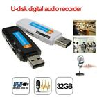 32GB Micro Pen USB Recorder Drive SD Flash TF U-Disk Audio up Voice Digital to