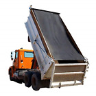 Dump Truck Mesh Tarp 7'X14' - Black Tentproinc Heavy Duty Cover with 6'' Pocket