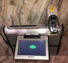 "Polaroid FDM-0715 7"" LCD TV Under Cabinet TV/Radio/DVD System w Universal Remote"