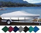 CUSTOM EXACT FIT BOAT COVER  90-00 DUSKY 233 OPEN FISHERMAN  CC   O/B