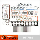 Fit 02-04 Ford Mustang Lincoln Town Car Mercury 4.6L SOHC Full Gasket Set+Bolts