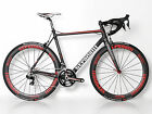 STRADALLI R7 CARBON ROAD BIKE SHIMANO DURA ACE 9070 Di2 11 SPEED 56 C LARGE BB30