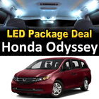 11x White LED Interior Package Kit + License Plate for 1999 - 2004 Honda Odyssey