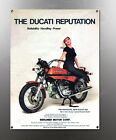 VINTAGE DUCATI 860 IMAGE BANNER NOS IMAGE REPRODUCTION