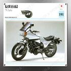 VINTAGE Kawasaki 1981 750 turbo IMAGE BANNER NOS IMAGE REPRODUCTION