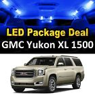 8x Blue LED Interior Package Kit + License Plate for 2000-2006 GMC Yukon XL 1500
