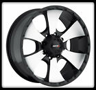 "17"" MKW M19 MACHINED RIMS & MICKEY THOMPSON LT285-70-17 BAJA ATZ TIRES WHEELS"